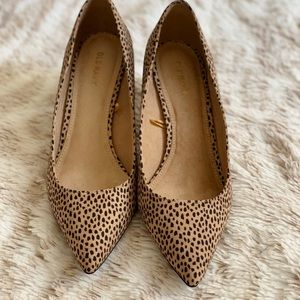Old Navy Shoes - New Old Navy kitten heels leopard animal print 7